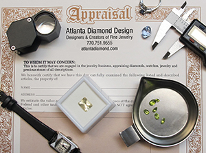 Atlanta Diamond Design Appraisals!