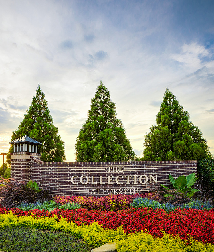 The Collection Sign